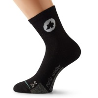 Assos EarlyWinter_S7 Socks - Black Volkanga