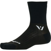 Swiftwick Performance Four Socks - Black