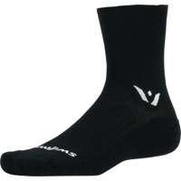 Swiftwick Pursuit Four Socks - Black