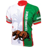 World Jerseys California Flag Jersey