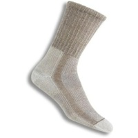Thorlo Hiking Womens Crew Light Socks - Khaki