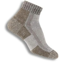 Thorlo Hiking Womens Mini-Crew Light Socks - Khaki