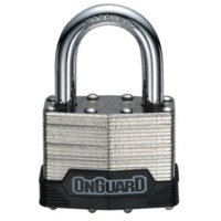 On Guard Bull Mastiff Laminated Keyed Padlock