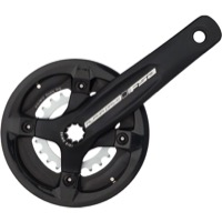 FSA Alpha Drive ISIS Crankset with Bashguard - 9 Speed