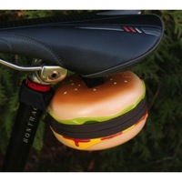 Bikase Cheeseburger Saddle Bag