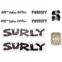 Surly Pugsley Necromancer Decal Set w/Headbadge