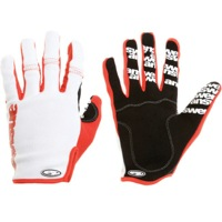 Answer Won Gloves - White/Red