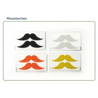 RydeSafe Moustache Reflective Bike Decals