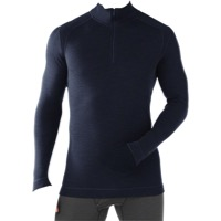 Smartwool Midweight LS Zip Top - Deep Navy