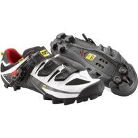 Mavic Rush Mountain Shoes - White/Black