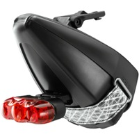 Fizik Ta:Ke Saddle Bag with Cateye Light