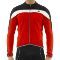 Giordana Silverline Long Sleeve Jersey - Red/Black/White