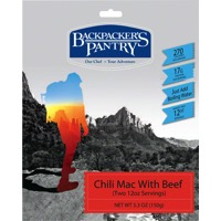 Backpacker's Pantry Chili Macaroni with Beef
