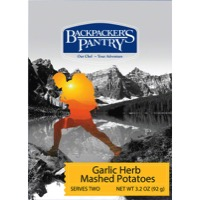 Backpacker's Pantry Garlic Herb Mashed Potato