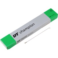 DT Champion 15 Gauge Spokes - Silver