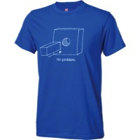 Problem Solvers Square Peg T-Shirt - Blue
