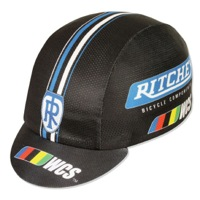 Pace Ritchey WCS Coolmax Cycling Cap - Black/Blue