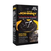 White Lightning Bike Johnny Bike Cover
