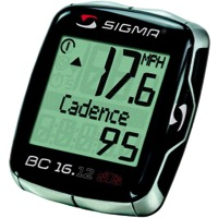 Sigma BC 16.12 STS CAD Wireless Cycling Computer
