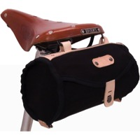 Banjo Brothers Minnehaha Canvas Barrel Saddle Bag