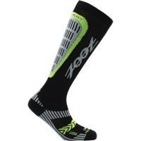 Zoot Recovery 2.0 CRx Compression Socks - Black/Yellow