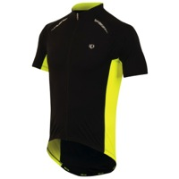 Pearl Izumi Elite Pursuit Jersey - Black/Screaming Yellow