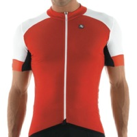Giordana FR-Carbon Short Sleeve Jersey - Red/White