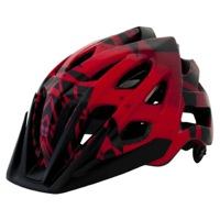 Kali Protectives Avita PC Helmet - Red/Black Geo