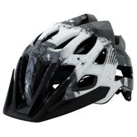 Kali Protectives Avita PC Helmet - White/Gray Geo