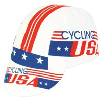 Pace Cycling USA Cycling Cap - Red/White/Blue