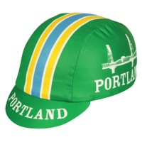 Pace Portland Coolmax Cycling Cap - Green