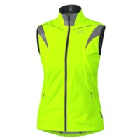 Gore Visibility WindStopper Active Shell Lady Vest - Neon Yellow