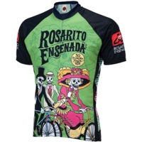 World Jerseys Rosarito Day of the Dead Jersey - Green/Black