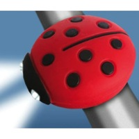 Clean Motion Boogie Bug Headlight - Lady Bug