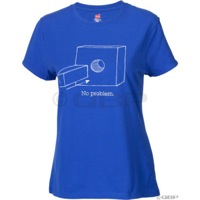 Problem Solvers Womens Square Peg T-Shirt - Blue