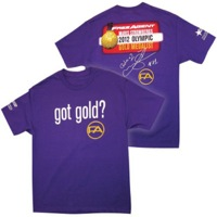Free Agent Got Gold? T-Shirt - Purple