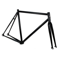 Fyxation Eastside Track Frameset - Gloss Black