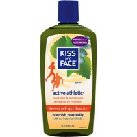 Kiss My Face Active Athletic Shower Gel