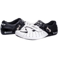 BONT Riot Road Cycling Shoes - White/Black