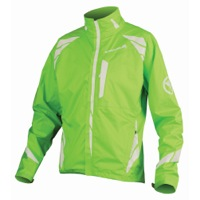 Endura Luminite II Cycling Jacket - Hi-Vis Green/Reflective