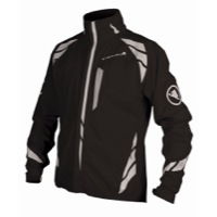 Endura Luminite II Cycling Jacket - Black/Reflective