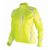 Endura Women's Luminite II Cycling Jacket - Hi-Viz Yellow/Reflective