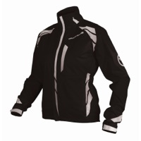 Endura Women's Luminite II Cycling Jacket - Black/Reflective