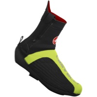 Castelli Narcisista All-Road Shoe Covers - Black/Yellow Fluo