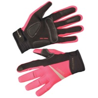 Endura Womens Luminite Gloves - Hi Viz Pink