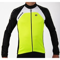 Giordana Silverline Long Sleeve Jersey - Fluo Yellow