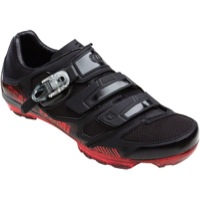 Pearl Izumi X-Project 3.0 Mountain Shoes - Black/Red