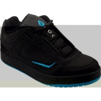SixSixOne Filter SPD Shoes - Black/Cyan
