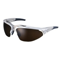 Shimano S70R Polarized Sunglasses - Metallic White