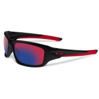 Oakley Valve Sunglasses - Polished Black/Positive Red Iridium